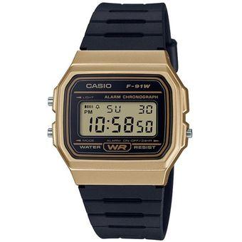 7abcc3fdfed4 Compra Reloj Casio F91WM-9A Digital Negro Dorado online