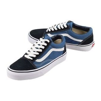vans azules old skool