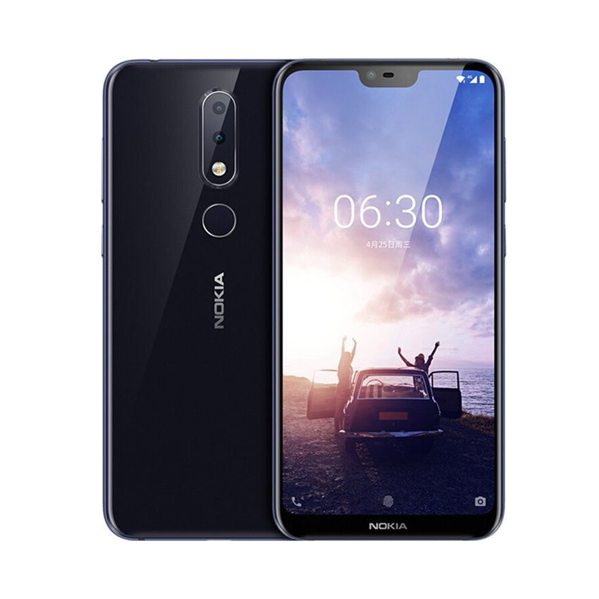 NOKIA X6 4G Phablet International Version 6GB RAM 64GB ROM-Azul
