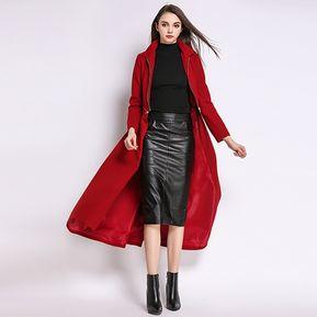 Abrigo Chaqueta Desmontable trenchcoats Fashion-cool-Vino b2779c3aa9ac
