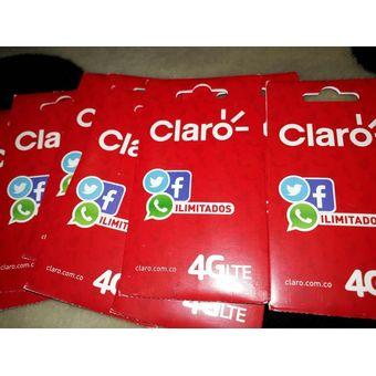 Promocion De Simcard De Claro Caja X 20 Unidades Al Por Mayor (activadas)
