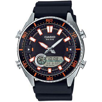 aa1a8b7310d9 Reloj CASIO AMW-720-1AVCF Classic Collection Análogo-Digital  Multifunción-Negro