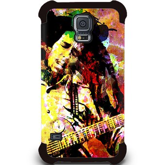 ebb10f2a242 Kustomit - Carcasa Galaxy S5 - Rock - Reggae - Bob Marley Guitar - Case  Funda