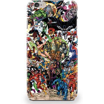 carcasas iphone 6 comics marvel
