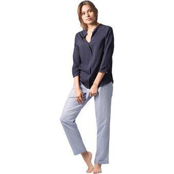 88bb8ad864 Compra Conjunto Pijamas Mujer Noite  Blue online