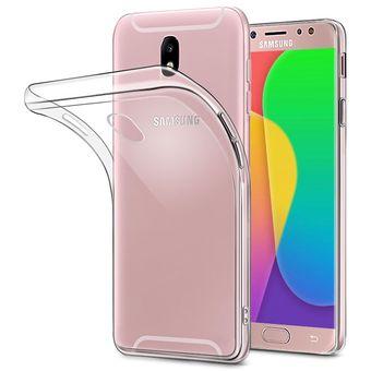 d01d67e23e6 Agotado Estuche Protector Thin Samsung Galaxy J7 Pro 2017 - Transparente