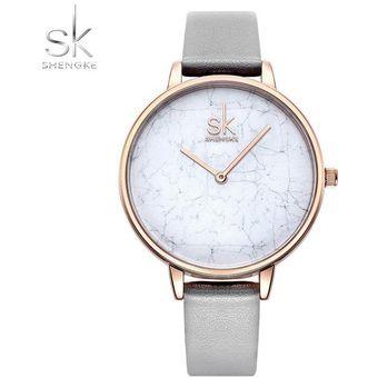 c3d782fb45f0 Compra Reloj Mujer Cuarzo Reloj Pulsera Simple Cuero Reloj-Blanco ...