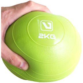 Live Up - Bola De Peso Suave 2kg Soft Ball- Verde 343886387275