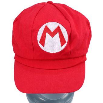 Agotado EY Tamaño Chic Luigi Super Mario Bros Cosplay Adultos Gorra De  Béisbol Traje Nuevo Rojo. b81a1d25897