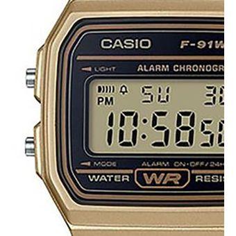 d8fcba1557a4 Compra Reloj Casio Vintage F91 Dorado Con Negro online