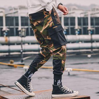Otono Pantalones Militares Tacticos Para Hombre Jogger Casual Camuflaje Joker Multi Bolsillo Piernas Pantalones De Chandal Harajuku Wan Camouflage Linio Colombia Ge063sp0oz8nblco