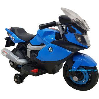 617226f66964 Compra Moto Electrica Ninja BMW Con Sonido Y Luces Azul online ...