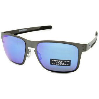 2e765f411d Oakley Holbrook Metal Matte Gunmetal / Prizm Sapphire Polarized OO4123-07