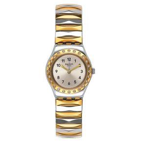 b474c08d16e1 Reloj Swatch Demoiselle D Honneur YSS302B Para Dama-Dorado Y Plateado
