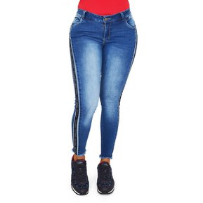 723ea95a4 Jeans Skinny Mujer Pink Star Jeans Levantacola Colombianos
