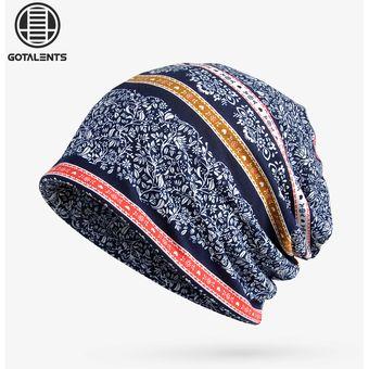 Compra Sombreros Para Unisex- Doble Uso De AlgodóN Impreso A-Azul ... cd6104d3c8e