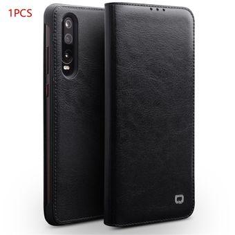 e1666354c3c Obra clásica ultrafina para el teléfono Huawei P30 Lite con funda blanda de  PU