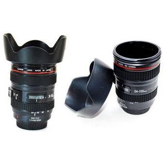 736959b4bc Compra Vaso Mug Lente Camara Termo Taza Canon 24-105mm 400ml online ...