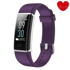 716bceff7de6 Reloj de ejercicios con monitor de ritmo cardíaco - Púrpura