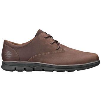 Zapatos Hombre Timberland Bradstreet Plain Toe Oxford Café