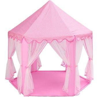 d8ba2f80ff Compra Castillo Princesa Portatil Plegable Carpa Tienda Casa Niñas ...