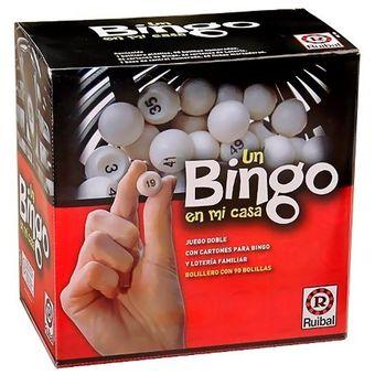 Compra Bingo Ruibal En Mi Casa Juego De Mesa Loteria Nuevo Online