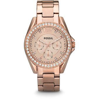 27ce7de6c1cb Compra Reloj Fossil ES2811 Oro Rosa - Mujer online