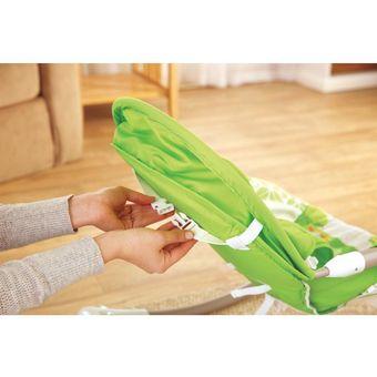 5830b1711 Agotado Silla Mecedora Vibradora Portatil Para Bebe Fisher Price Rain Forest  - Verde