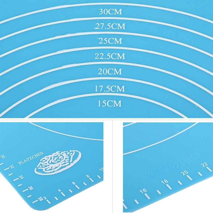 2 PC Multi - Purpose Baking Necesario Amasar Harina Silicona PAD / PAD / Aislamiento Térmico Almohadilla De Color Al Azar Entrega SU015HL12IZK5LMX QYUIbXHG QYUIbXHG Z6lgCZ98