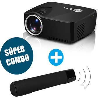 Combo Video Beam GP70 + Parlante Bluetooth Altavoz B-28