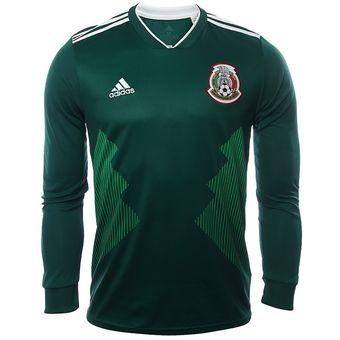 Compra Jersey Local Selección México Rusia 2018 - Hombre Manga Larga ... cf6b049c5047f