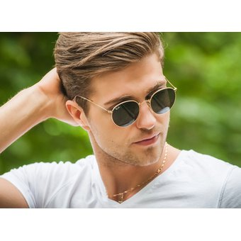 ac4b82553 ... where to buy lentes de sol ray ban round metal rb3447 001 clasico  redondo 50mm 8cfd1