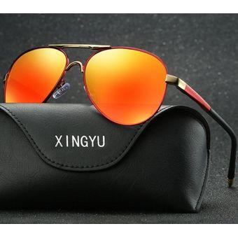 5c33e6bf75 Compra Gafas De Sol Polarizadas De Gran Tamaño Para Hombres-naranja ...