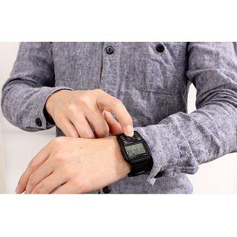5698a056745d Agotado Reloj Casio Retro DBC-32-1A Data Bank Calculadora Cronógrafo Digital  LED Negro