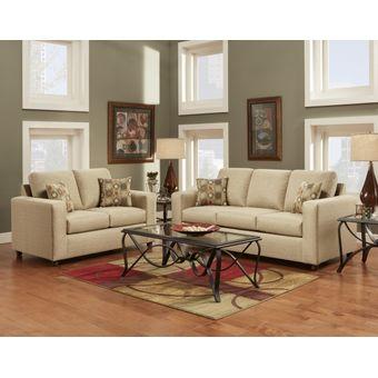 Compra juego de sala decora nimbo 3 2 cuerpos beige for Muebles de sala en oferta lima peru