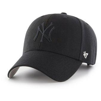 Agotado 47 BRAND - Gorra Para Hombre New York Yankees MVP Strapback - Negro 9baec59f6d1