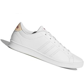 reputable site 9c56c 756e8 Zapatilla Adidas Advantage CL QT Para Dama - Blanco y Rosa