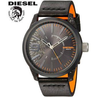 802db45a06d7 Reloj Diesel Rasp DZ1845 Acero Inoxidable Correa De Cuero - Negro Naranja