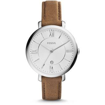 860d7b4791be Compra Reloj Fossil ES3708 Dama Jacqueline Brown Leather -Café ...