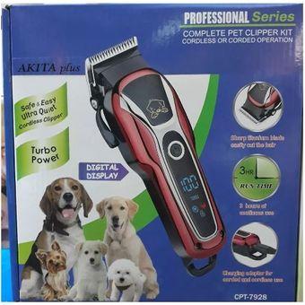 Compra Máquina Digital Eléctrica Cortador Pelo Mascotas Inalámbrico ... c5893505e9a1