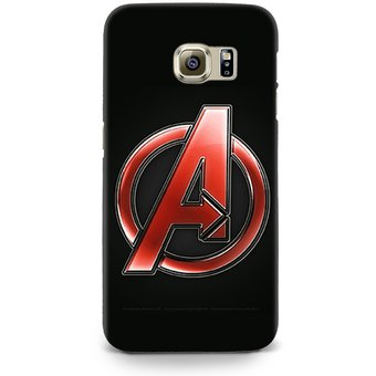 5ec21b120f9 Compra Carcasa para Galaxy S6 Edge Marvel Avengers A Logo online ...