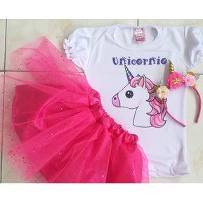 tutu de unicornio para niña