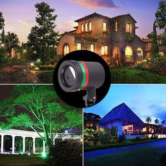 46b9648a21e Proyector Laser start motion proyector de luces LED Aire Libre Navidad