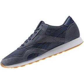Zapatilla Reebok CL Nylon HS Para Hombre - Azul 807510b9941ae