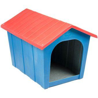 799041040ec66 Compra Casa De Plástico Para Perro Plas Rot-Azul Con Rojo online ...