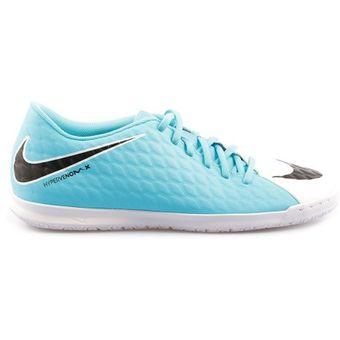 best service 643ce 182cf Agotado Zapatos Fútbol Hombre Nike HypervenomX Phade III IC -Azul Con Blanco