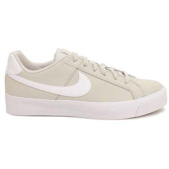 Zapatillas Deportivas Hombre Nike Court Royale Ac Beige con Blanco