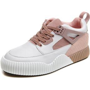 71cffc7ddca Zapatos Tenis Zapatillas Mujer De Deportes De Nuevo Diseño De Ocio -Rosa