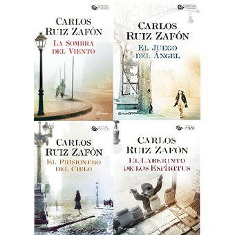 Pack Saga El cementerio de los libros olvidados - Carlos