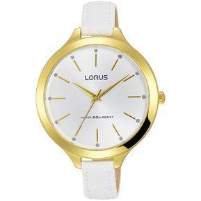 c81ca1f1431f Reloj Analógico Marca Lorus Modelo  RG204LX9 Color Oro Para Dama